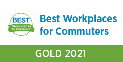 best workplaces for commuters gold 2021